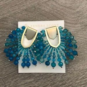 NWT Kendra Scott beaded starburst earrings